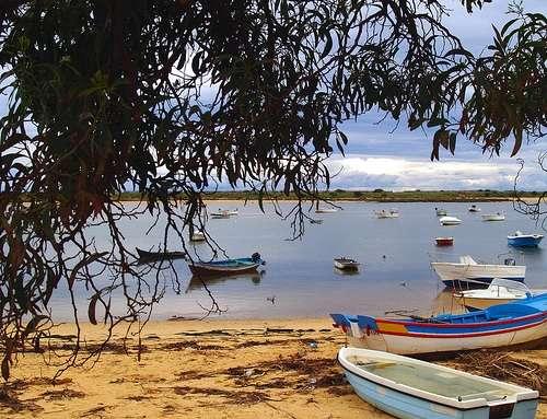 Ria Formosa en el Algarve