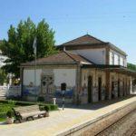 Azulejos en la estación de trenes de Pinhão