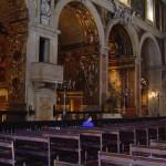 El grandioso interior de la Iglesia de São Roque
