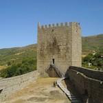 Castillo de Linhares en la Serra da Estrela
