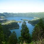 Pasear por los lagos de São Miguel