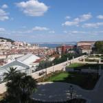 Mirador de São Pedro de Alcântara en Lisboa