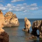 Las grutas de Ponta da Piedade