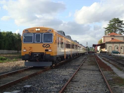 Trenes en Portugal