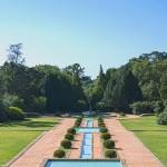 Jardines de la Fundación Serralves en Oporto
