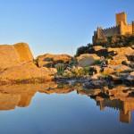 Castillo de Almourol, fortaleza en mitad del Tajo