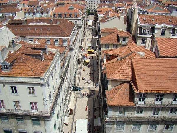 calle comercial en Lisboa