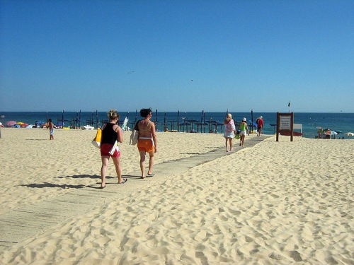 Vacaciones de playa en Armação de Pêra