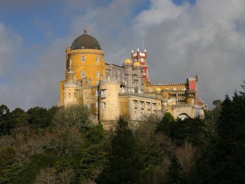 Palacio Nacional de Pena en Sintra