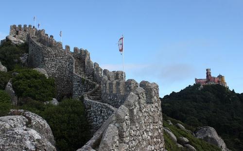 Castillo Moro en Sintra