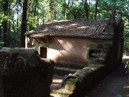 Ermita en Bosque Bussaco