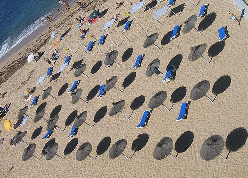 Playa en el centro de Portugal