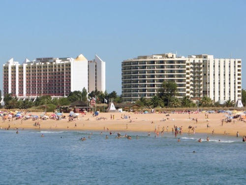 Playa principal de Vilamoura