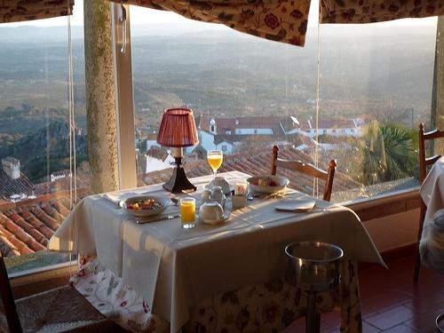 Desayuno en una Pousada
