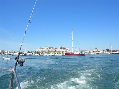 Paseo en bote desde Vilamoura