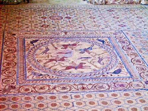 Mosaico en Conimbriga