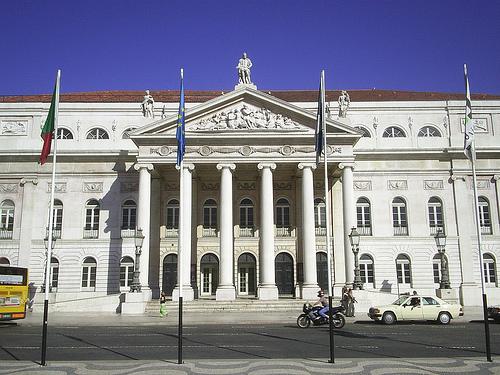 Teatro Nacional Doña Maria II, en Lisboa