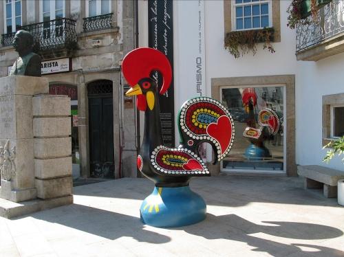 Gallo de ceramica en Barcelos