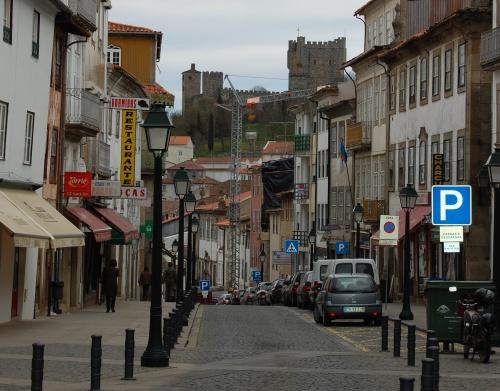 Calles históricas de Braganca
