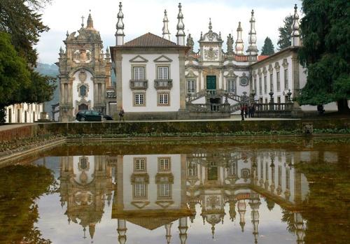 Fachada del Palacio Mateus