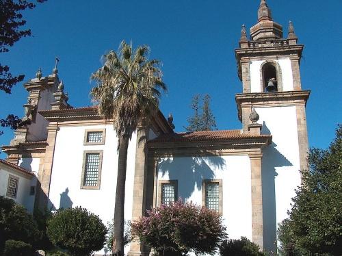 Parte lateral del Palacio Mateus