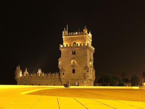 Torre de Belem en la noche