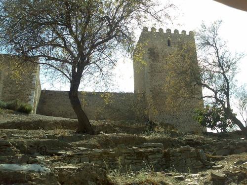 Torre en el Castillo de Mertola