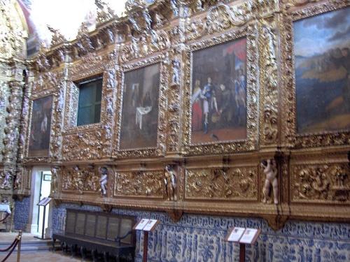 Interior de la Iglesia de Santo Antonio