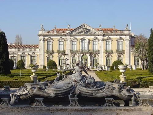 Fachada del Palacio Nacional de Queluz