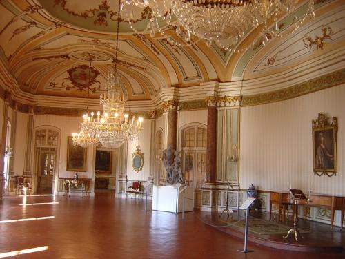 Habitacion de la Musica en el Palacio de Queluz
