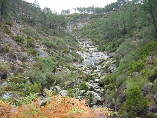 Cascada de Agarez en el Parque de Alvao