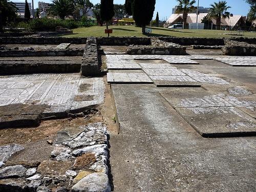 Cerro da Vila, ruinas romanas cerca a Vilamoura