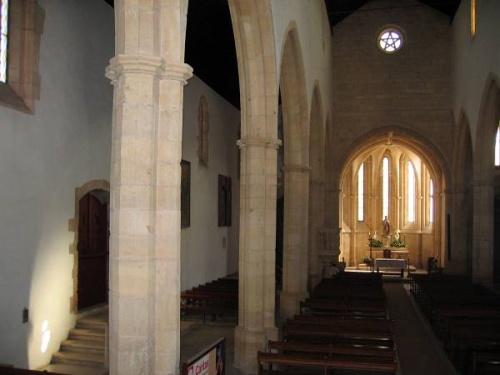 Interior de la Iglesia de Santa Maria dos Olivais