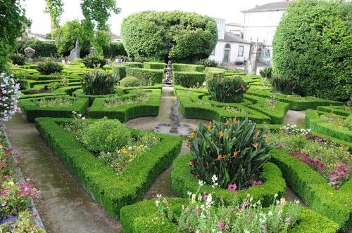 Jardines en el Museo Biscainhos