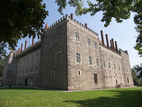 Palacio de los Duques de Braganza en Guimarães
