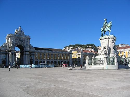 Praca do Comercio en Lisboa