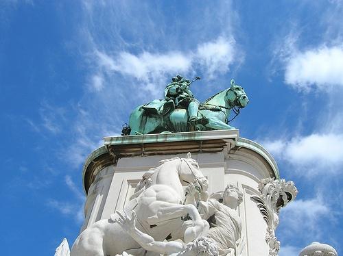Estatua del Rey Jose I de Portugal