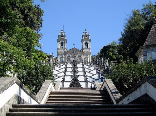 Escaleras en Bom Jesus de Braga