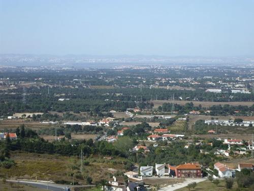 Estuario del Tajo desde Castro de Chibanes