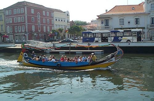 Embarcaciones para recorrer Aveiro