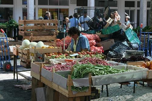 Mercados tradicionales en Cascais