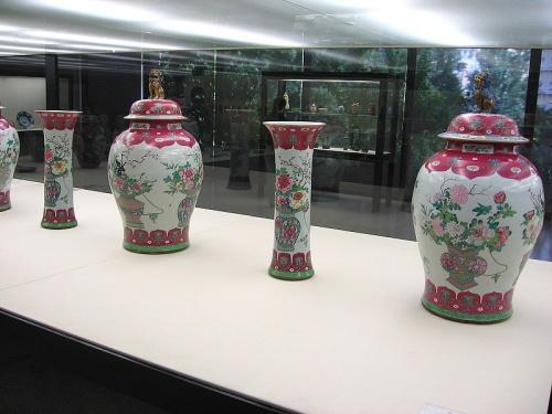 Ceramica China de la Dinastia Qing