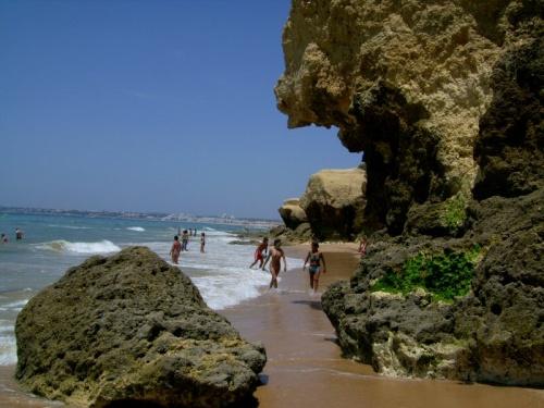 Playa de Gale en Albufeira