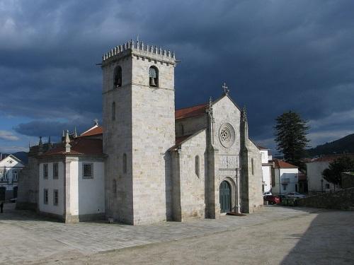 Detalles variados en la Iglesia Matriz de Caminha
