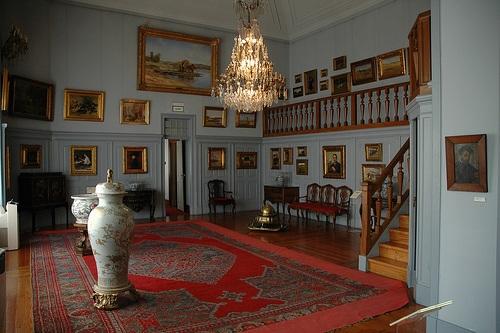 Interior de la Casa de Malhoa