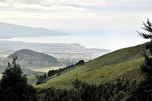 Isla de Sao Miguel en las Azores