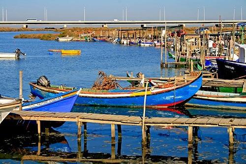 Embarcaciones en Alcochete