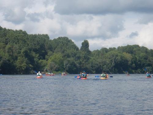 Canotaje en el rio Minho