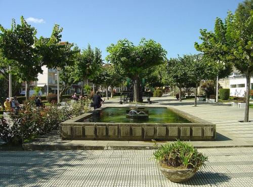 Plaza principal de Castro Daire