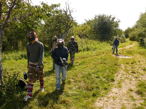 Paintball en el Algarve